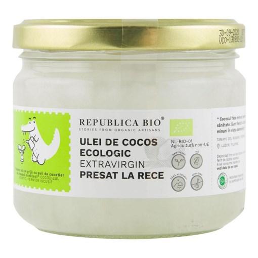 Imagine Ulei de cocos Republica BIO 280 ml, extravirgin, presat la rece, bio