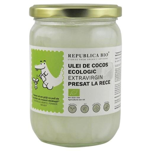 Imagine Ulei de cocos Republica BIO 500 ml, extravirgin, presat la rece, bio