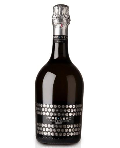 Imagine Vin spumant Cigno Moro Pepe Nero Spumante Brut Salento IGP, Alb, 0.75L