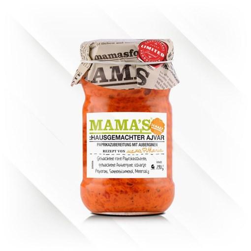 Imagine Zacusca ardei cu vinete picanta Mama's Food, 290g