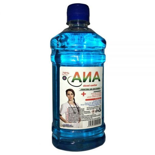 Imagine Alcool Sanitar Ana Med 70% 500ml